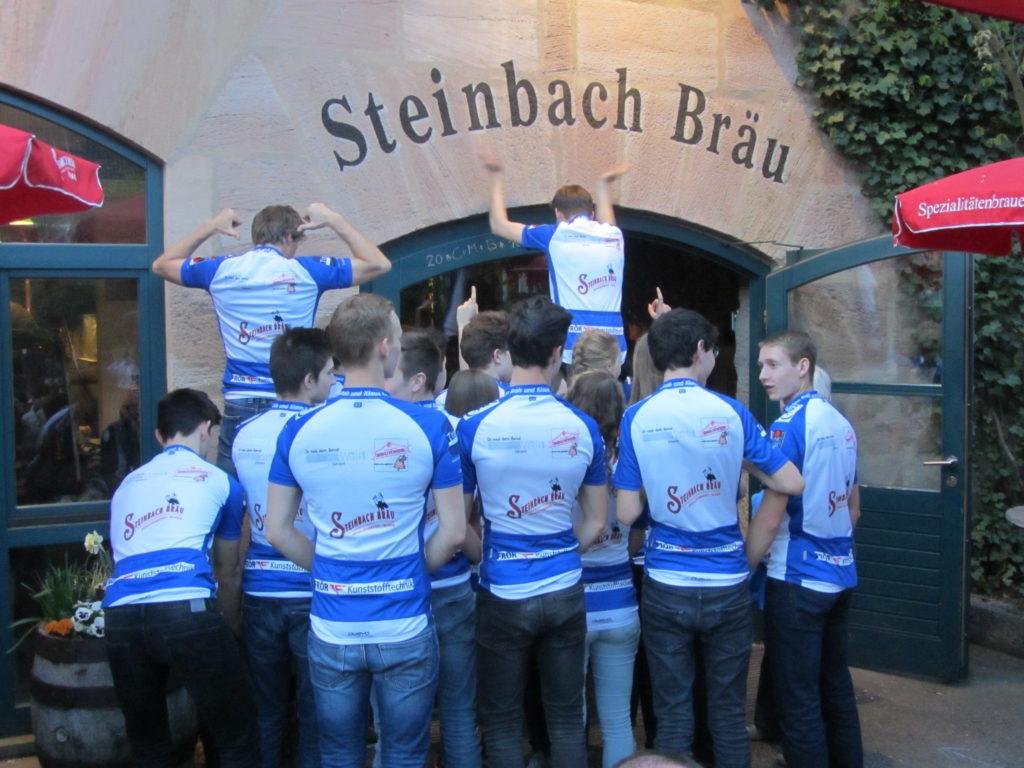 Zu Besuch bei Steinbachbräu